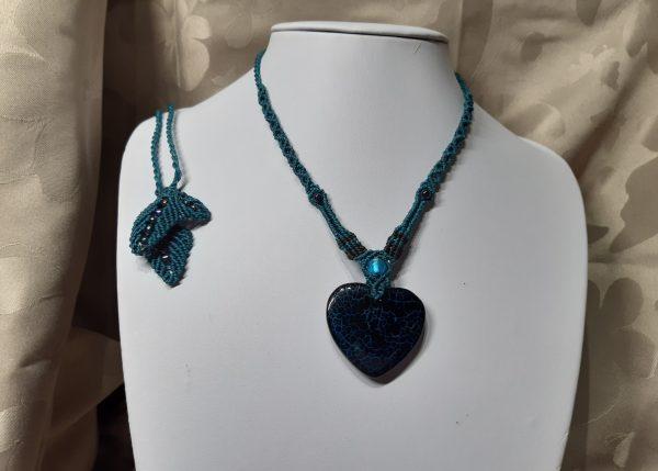 bijou, Romantique en coeur d'agate