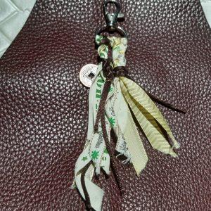 femme, accessoire - bijou de sac fanbreluche