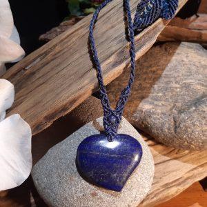 lapis lazuli pour ce collier Nuit étoilée